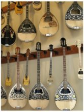 Musical Instrument Shop in the Plaka in Athens, photo (c) Donna Dailey from http://www.greece-travel-secrets.com/Best-Things-to-Do-in-Athens.html