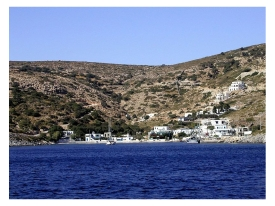 Agathonisi in the Dodecanese islands of Greece