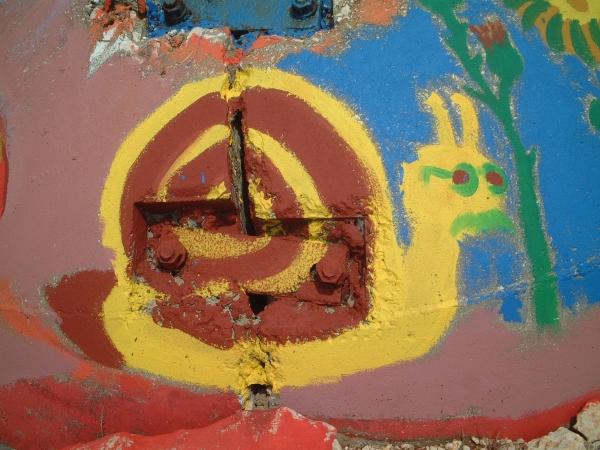 Military Bunker in Albania
