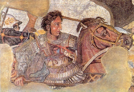 The story of Alexander the Great: http://www.greece-travel-secrets.com/Alexander-the-Great.html