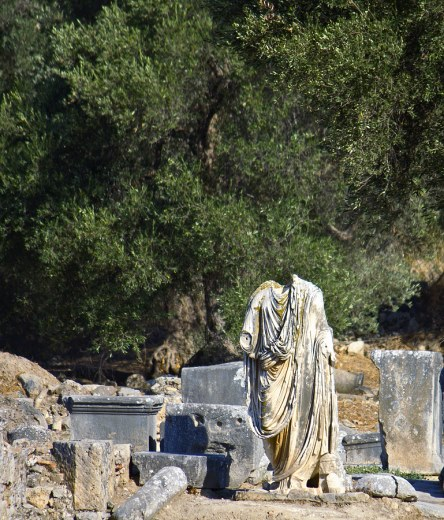 Ancient Gortina Archaeological Site in southern Crete, from http://www.greece-travel-secrets.com/Gortina.html