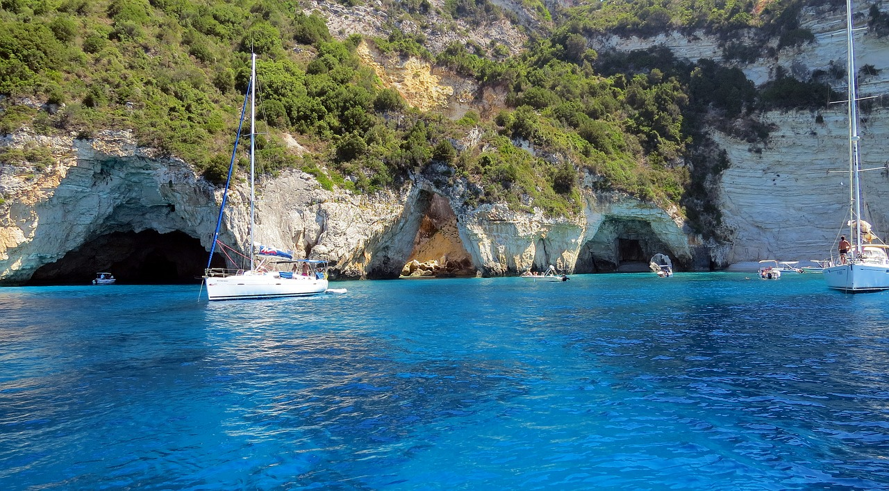 Antipaxos in Greece