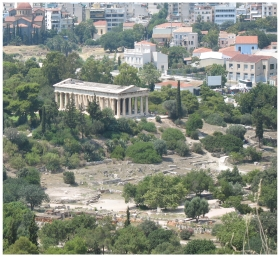 The Ancient Agora in Athens, photo (c) Donna Dailey from http://www.greece-travel-secrets.com/Best-Things-to-Do-in-Athens.html