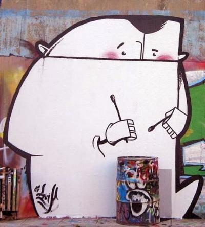 Athens street art on an Athens walking tour with Alternative Athens: www.alternative-Athens.com