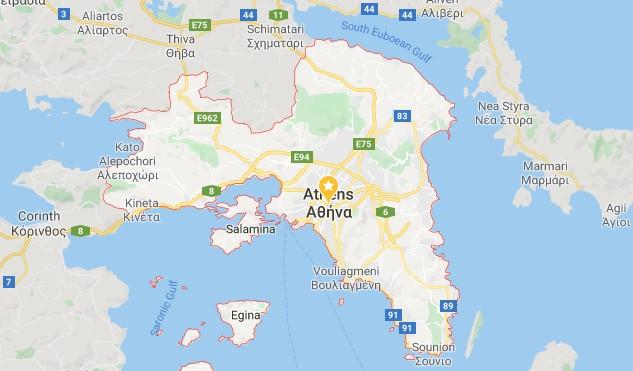 Attica Map