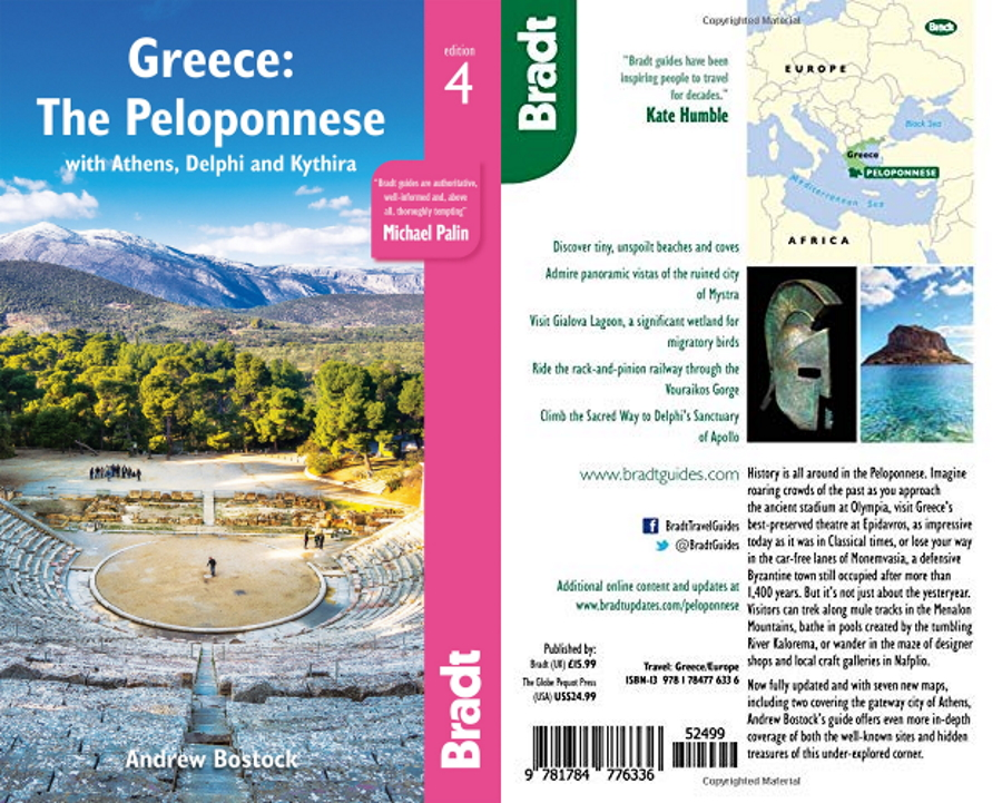 Bradt Guide to the Peloponnese