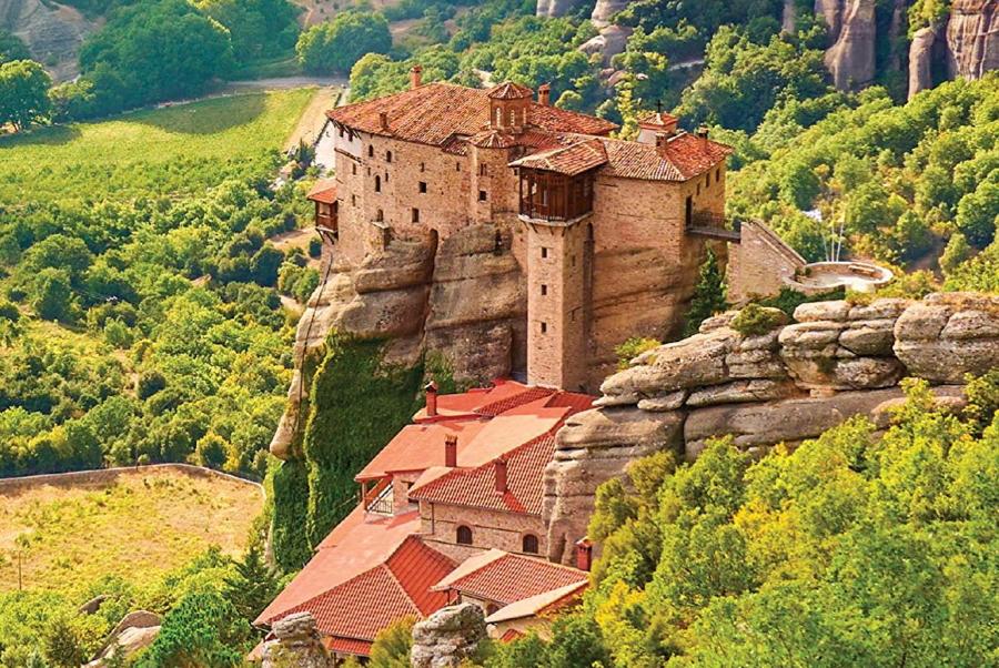Roussánou Monastery, Meteora