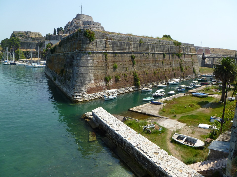 The Old Fort in Corfu Town