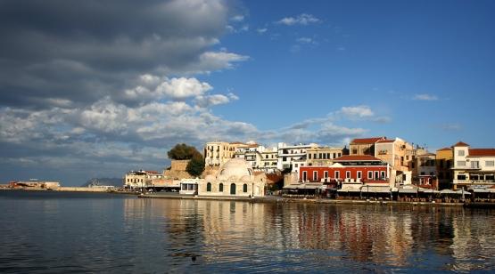 Chania in Western Crete, from www.Greece-Travel-Secrets.com