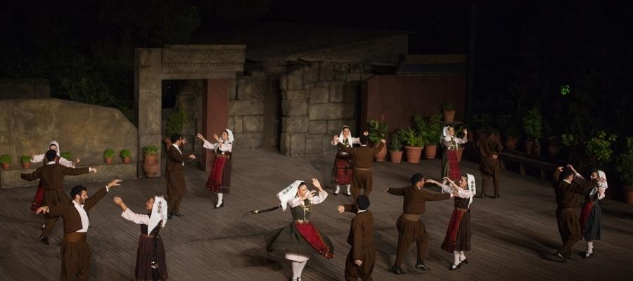 The Dora Stratou Dance Group in Athens, Greece