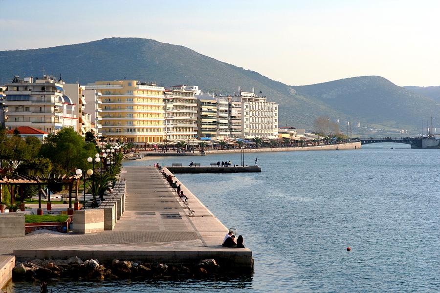 Chalkida on Evia
