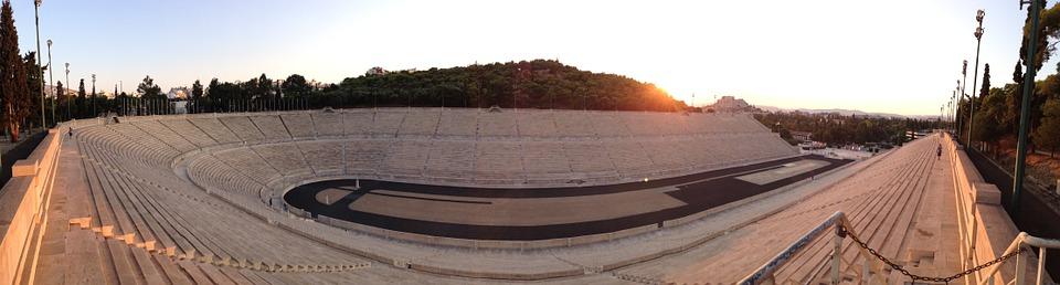 1896 Olympic Stadium in Athens