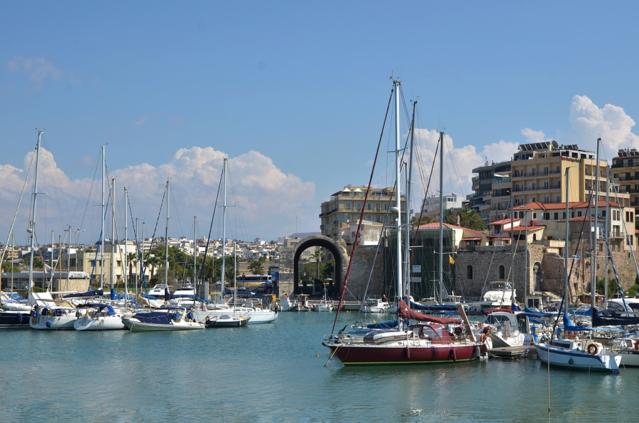 Heraklion is the sixth biggest city in Greece