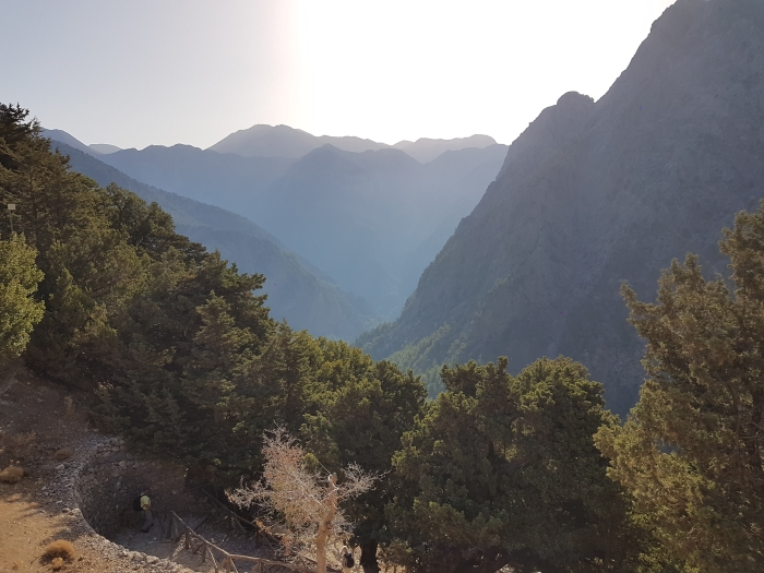 Hiking the Samaria Gorge on Crete is one of the top ten things to do in Greece according to Greece Travel Secrets
