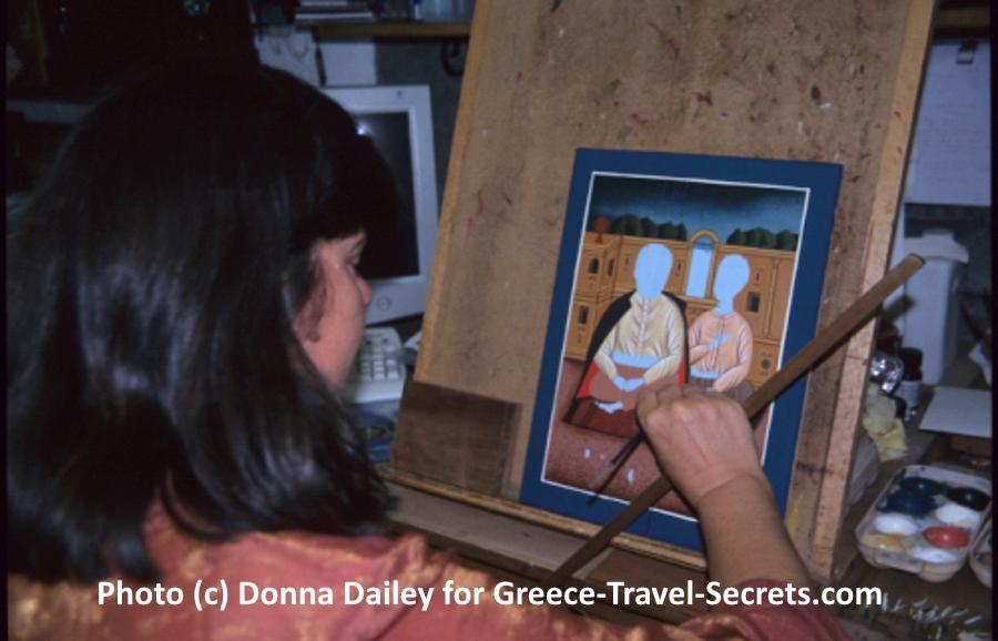 Greek icon painter