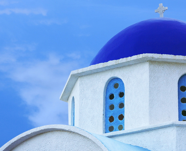 Church on Ikaria in the North-East Aegean Islands of Greece