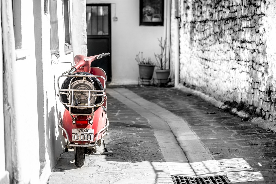 In the Back Streets of Ioannina, Greece