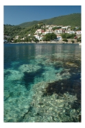 Ithaca in the Ionian Islands of Greece: http://www.greece-travel-secrets.com/Ithaca.html