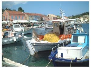 Fiskardo on Kefalonia: http://www.greece-travel-secrets.com/Kefalonia.html