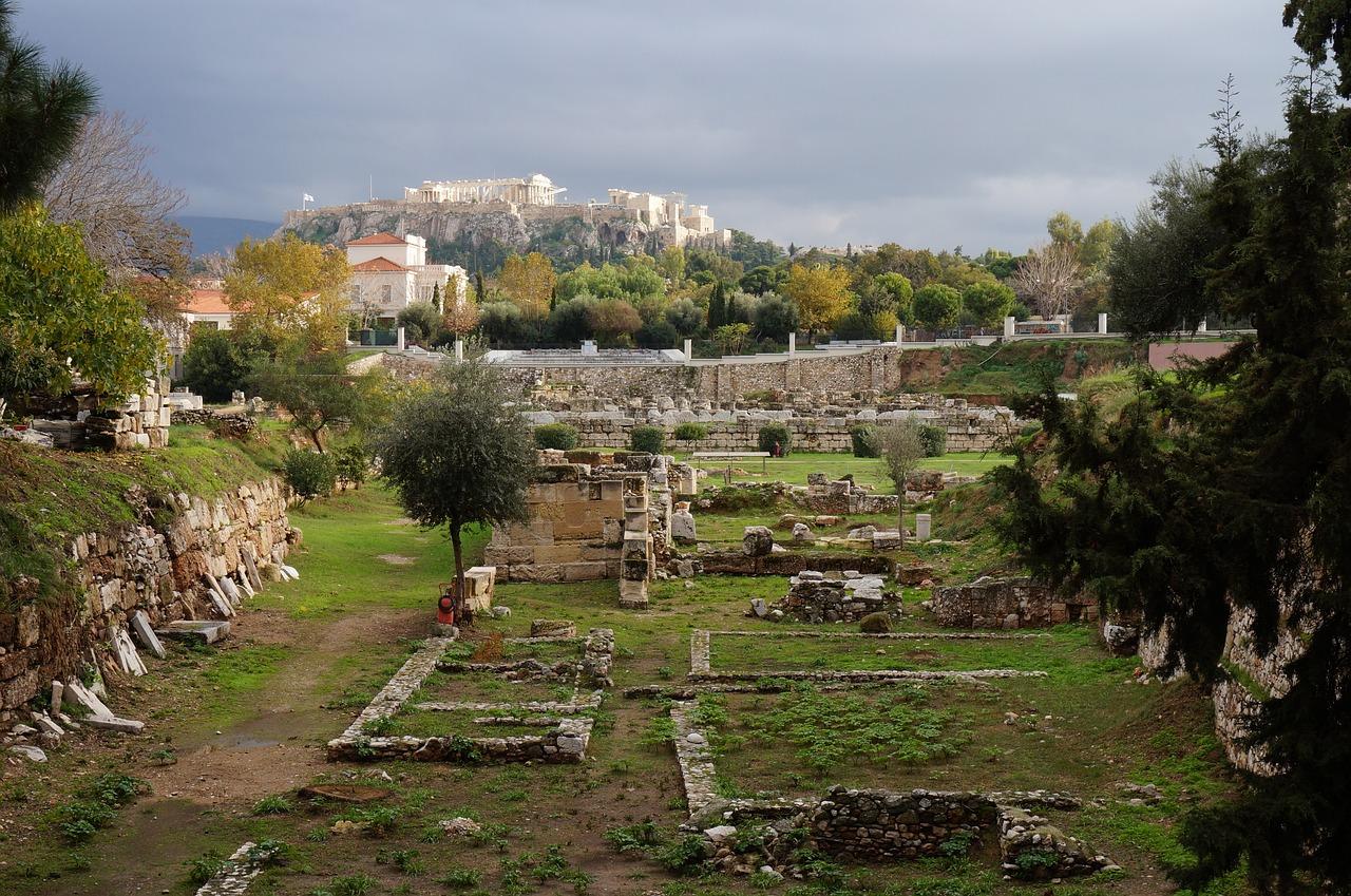 Kerameikos Cemetery in Athens