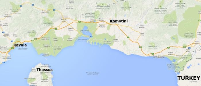 Komotini in Thrace Greece