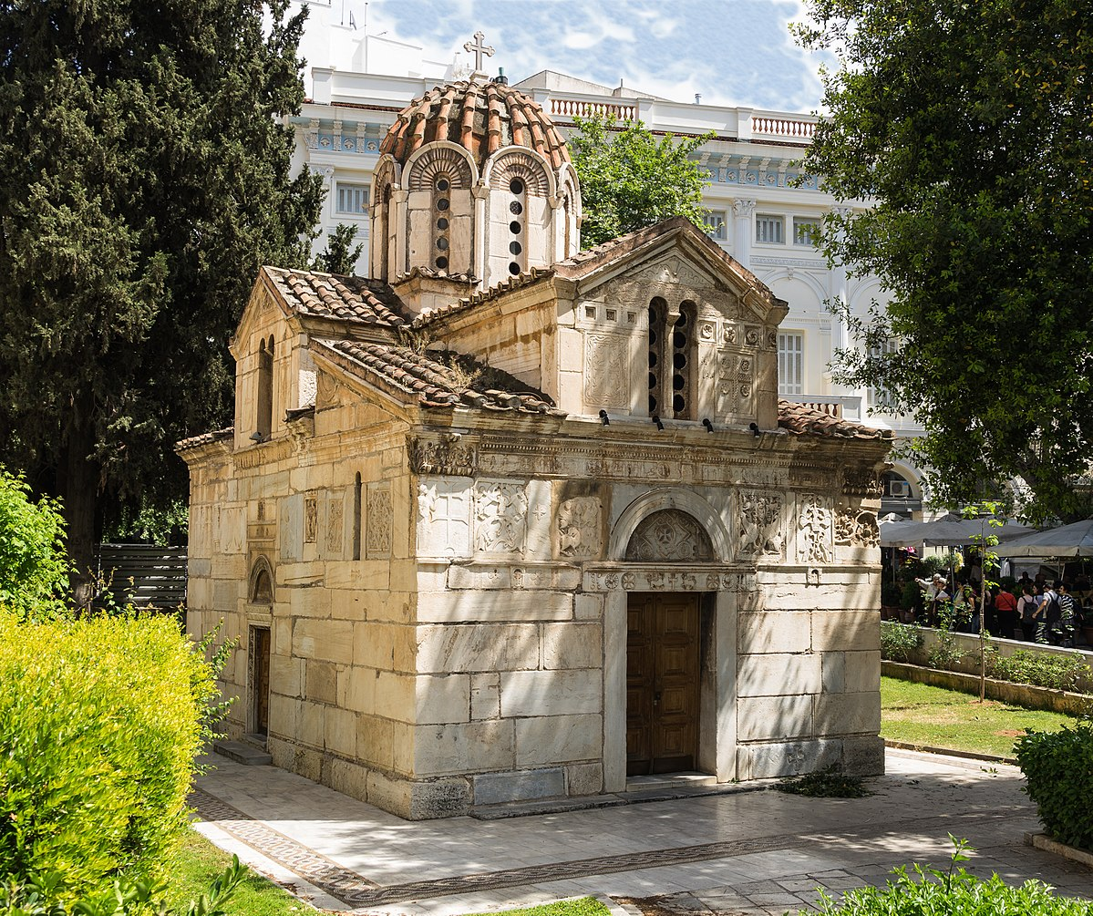 The Little Mitropolis Cathedral in Athens