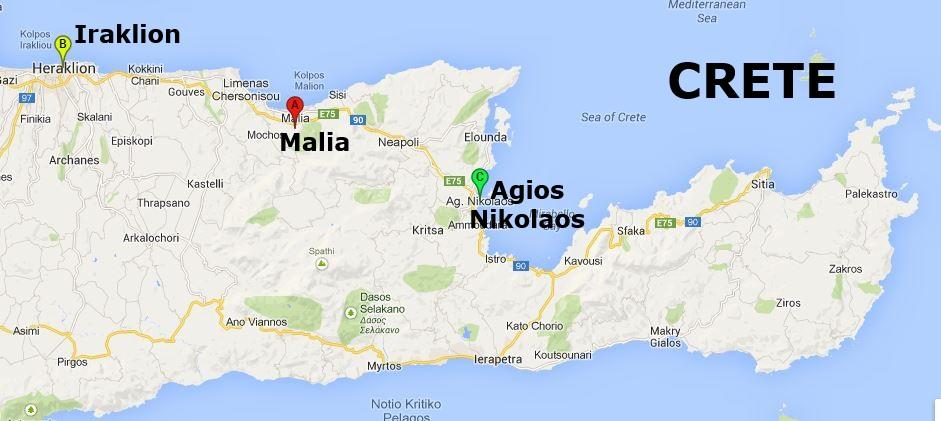 and its Minoan Palace on Crete
