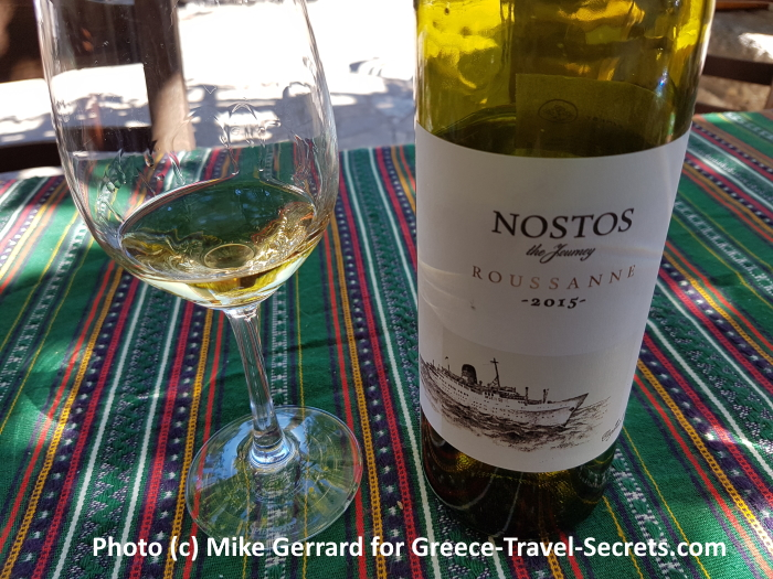 Wine tasting at the Manousakis winery on Crete