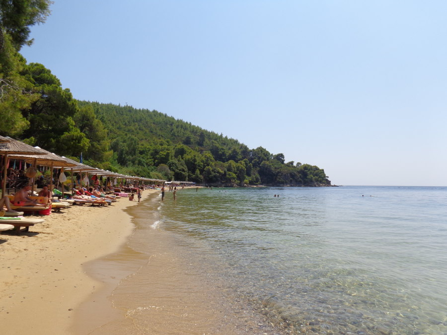 Maratha beach on Skiathos
