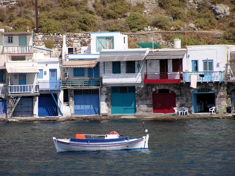 Milos in the Cyclades islands of Greece: http://www.greece-travel-secrets.com/Milos.html