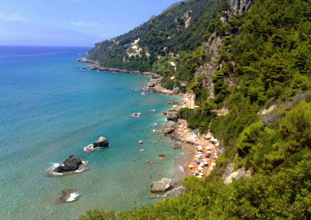 Mirtiotissa beach on Corfu