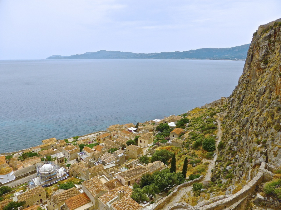 Monemvasia in Greece