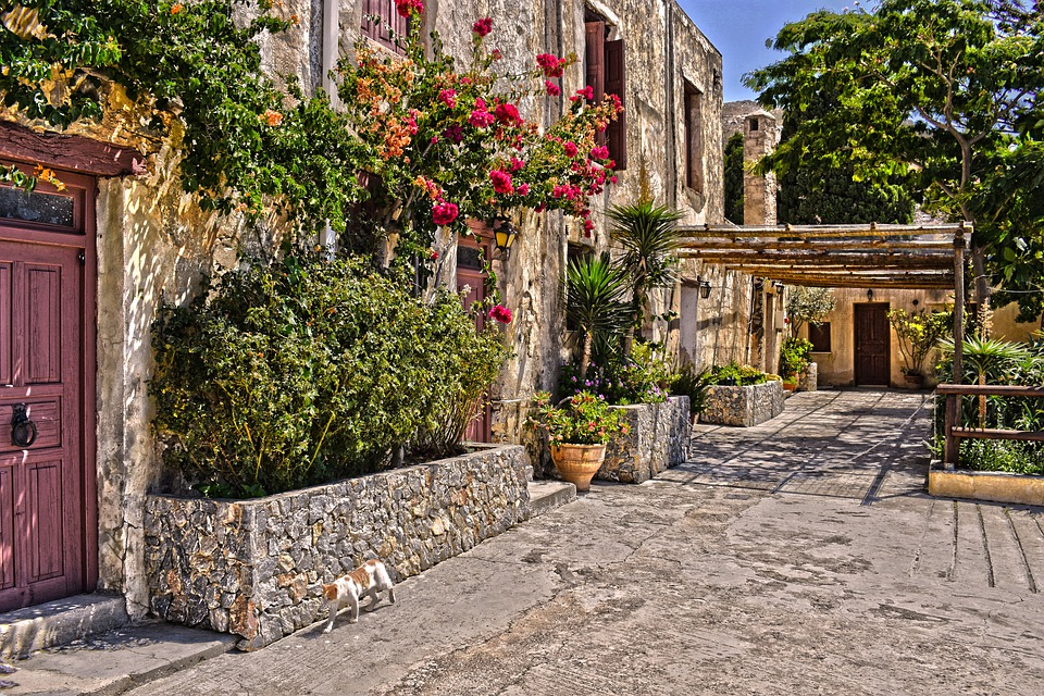 Moni Preveli monastery on Crete