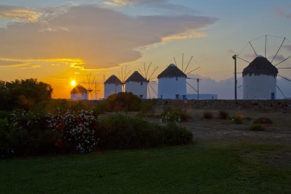 The Greek island of Mykonos, from https://www.greece-travel-secrets.com/Greek-food-and-drink-cruises.html