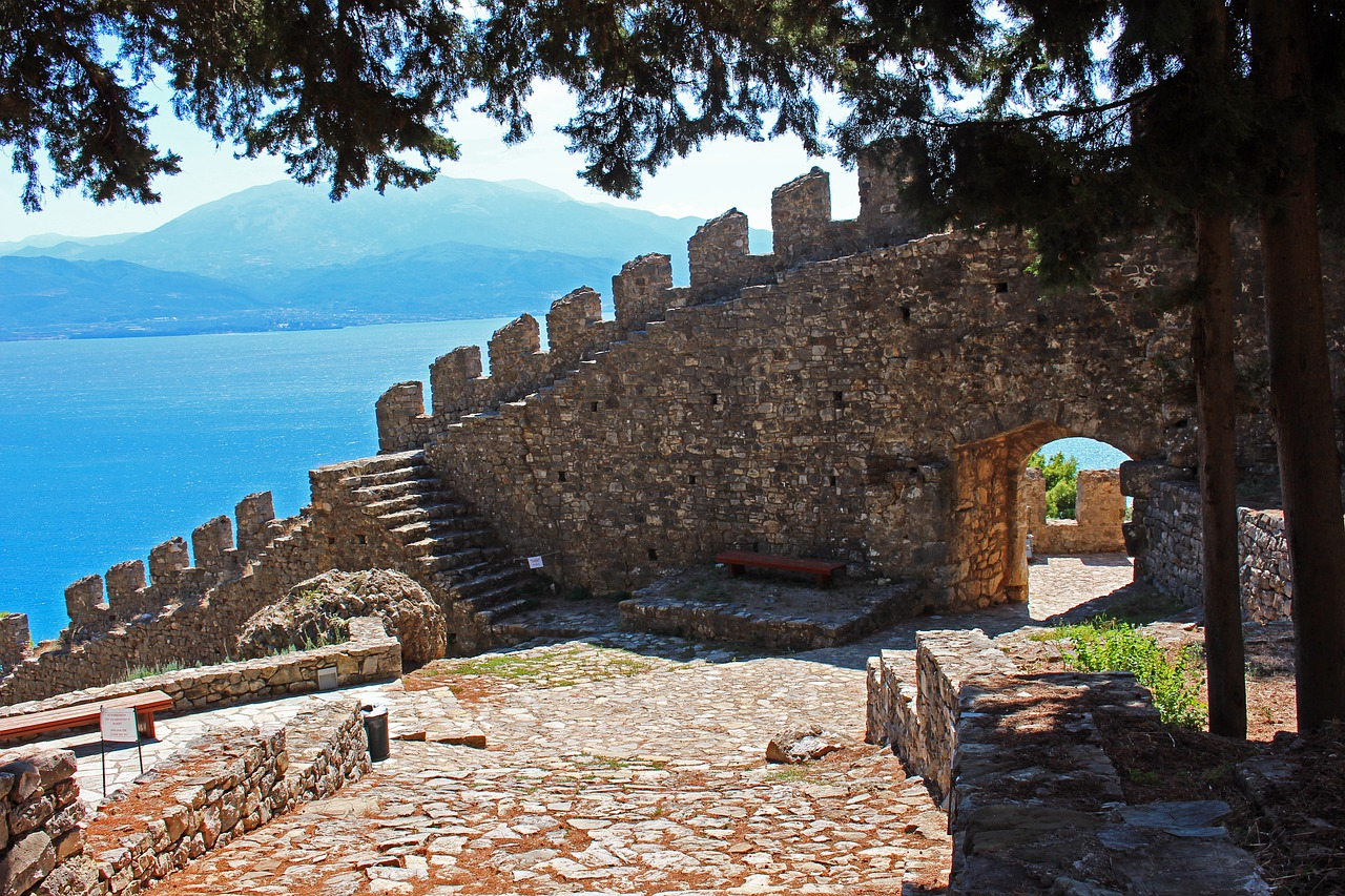 Nafpaktos Castle Walls