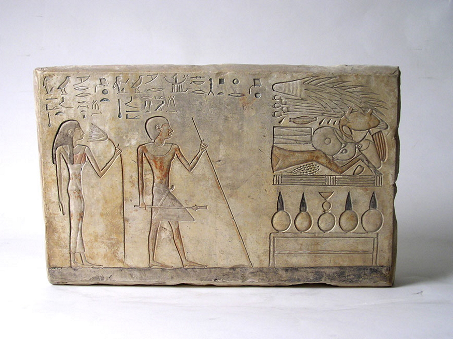 From the Egyptian Collection