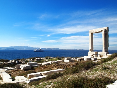 Naxos in the Cyclades Islands of Greece, from http://www.greece-travel-secrets.com/Naxos.html