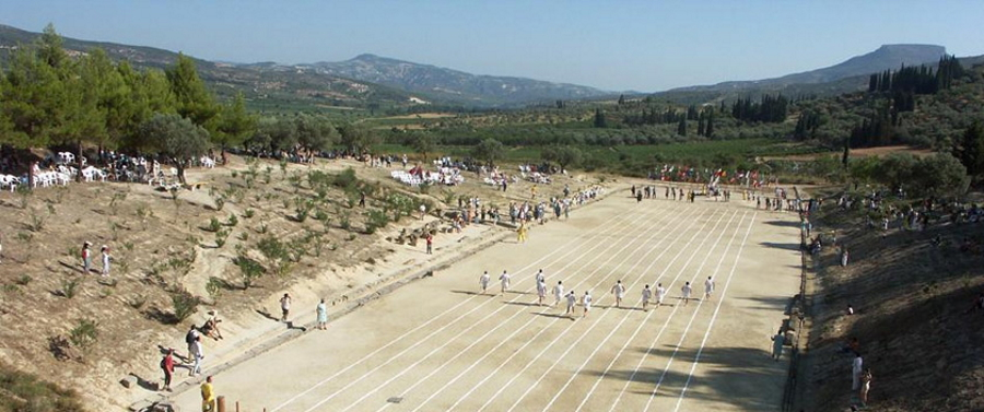Nemean Games Stadium in Greece