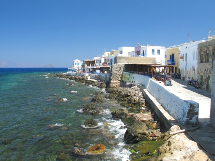 Mandraki on Nisyros in the Dodecanese Islands of Greece: http://www.greece-travel-secrets.com/Kos.html#Nisyros