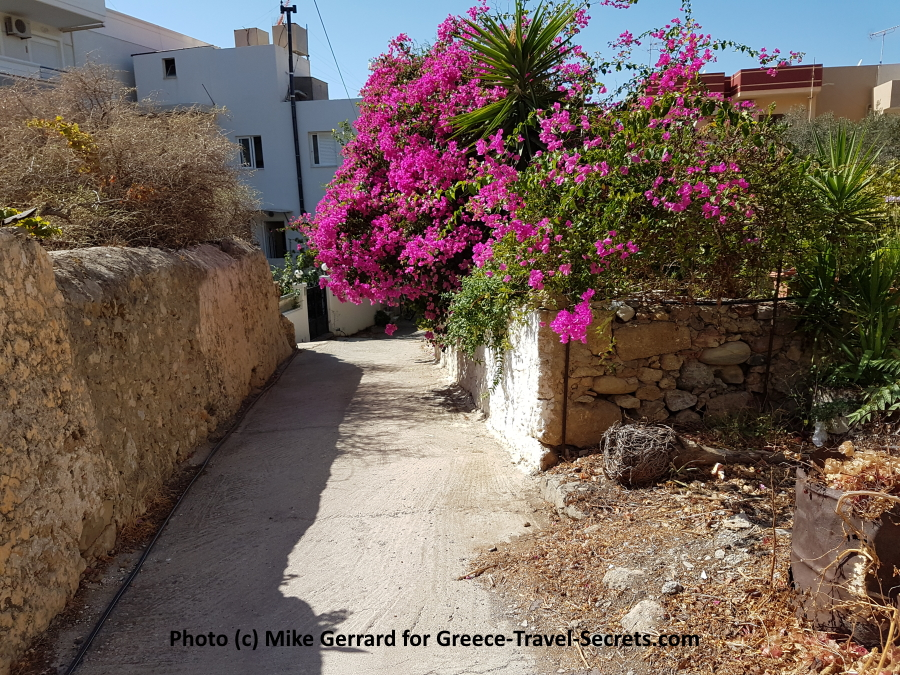 Back Streets of Paleohora, Crete