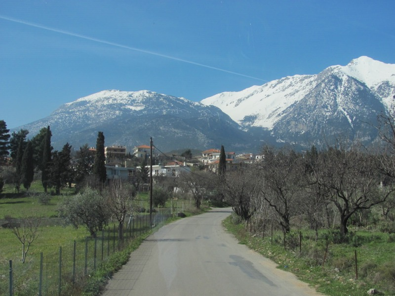 The Parnassus Mountains of Greece