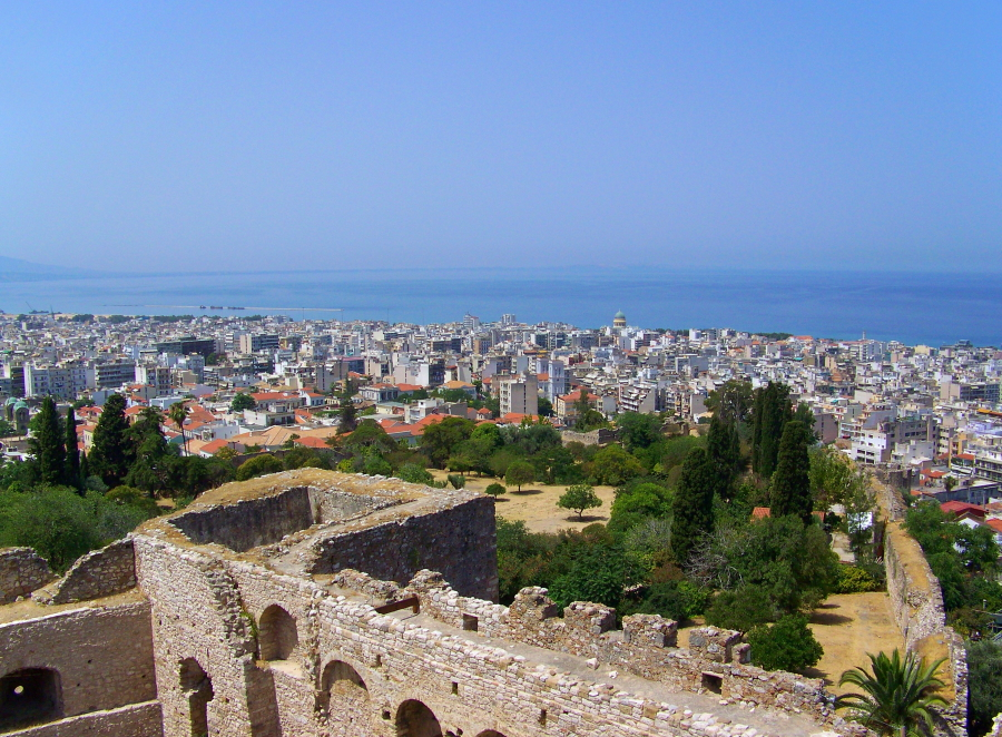 Patras is the third largest city in Greece