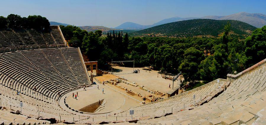 Epidavros Theatre in Greece