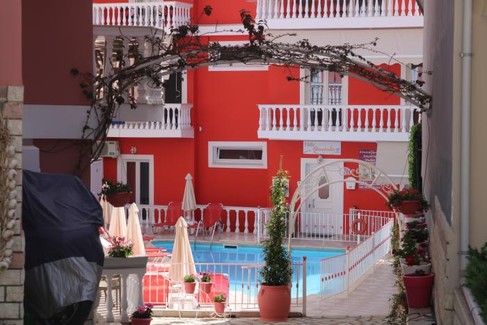 The seaside resort of Parga in Epirus in Western Greece.