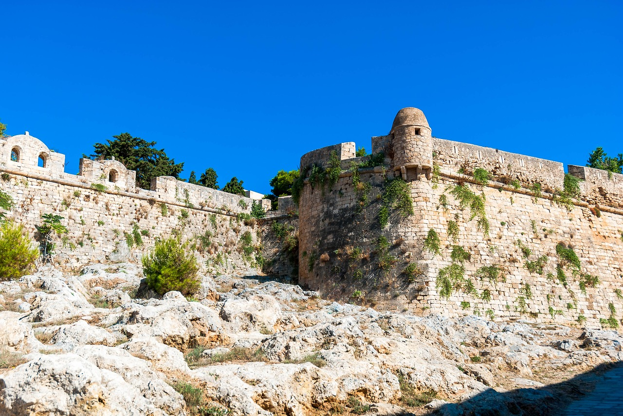 The Venetian Fortress in Rethymnon