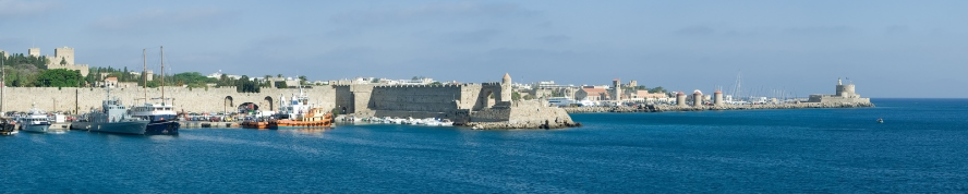 Rhodes in the Dodecanese Islands of Greece, from https://www.greece-travel-secrets.com/Rhodes.html