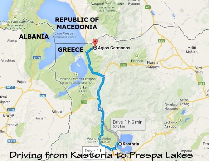 Ioannina Greece Map.Scenic Drives In Northern Greece