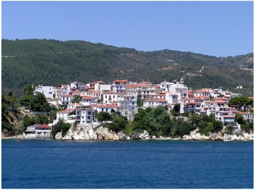 Skiathos in the Sporades Islands of Greece: http://www.greece-travel-secrets.com/Skiathos.html