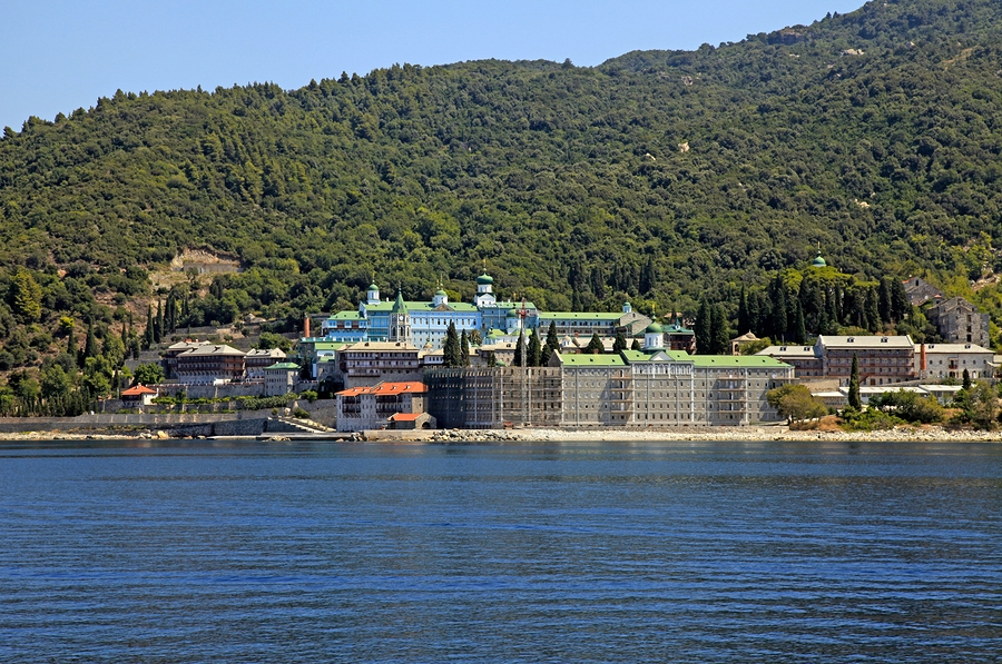 Mount Athos Boat Trips, from https://www.greece-travel-secrets.com/Mount-Athos-Boat-Trips.html