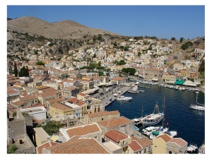 Symi in the Dodecanese: http://www.greece-travel-secrets.com/Dodecanese.html